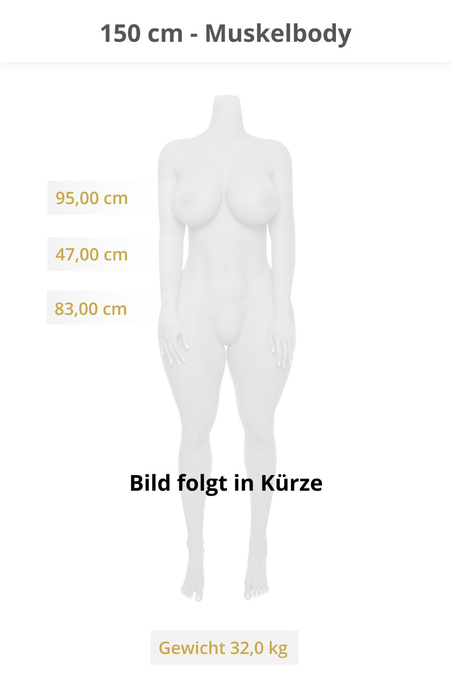 150-cm-Muskelbody